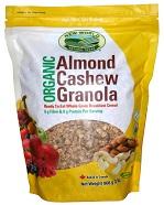 Almond Cashew Granola