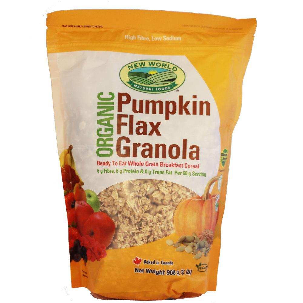 Pumpkin Flax Granola