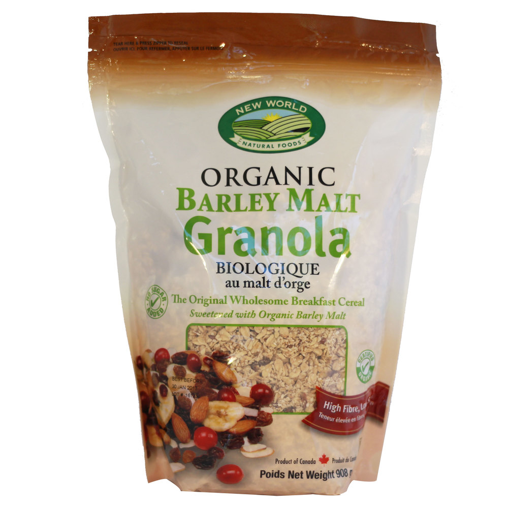 Barley Malt Granola