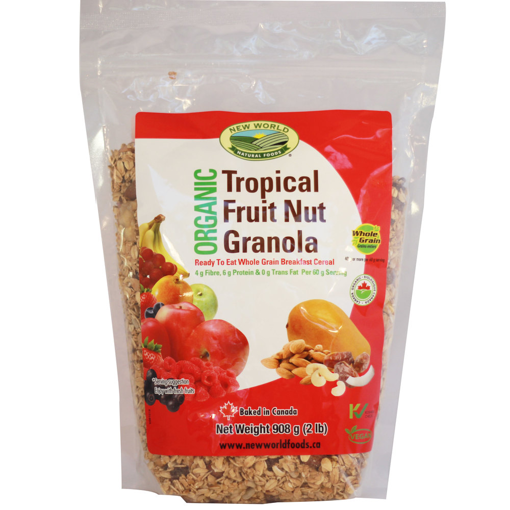 Tropical Fruit Nut Granola