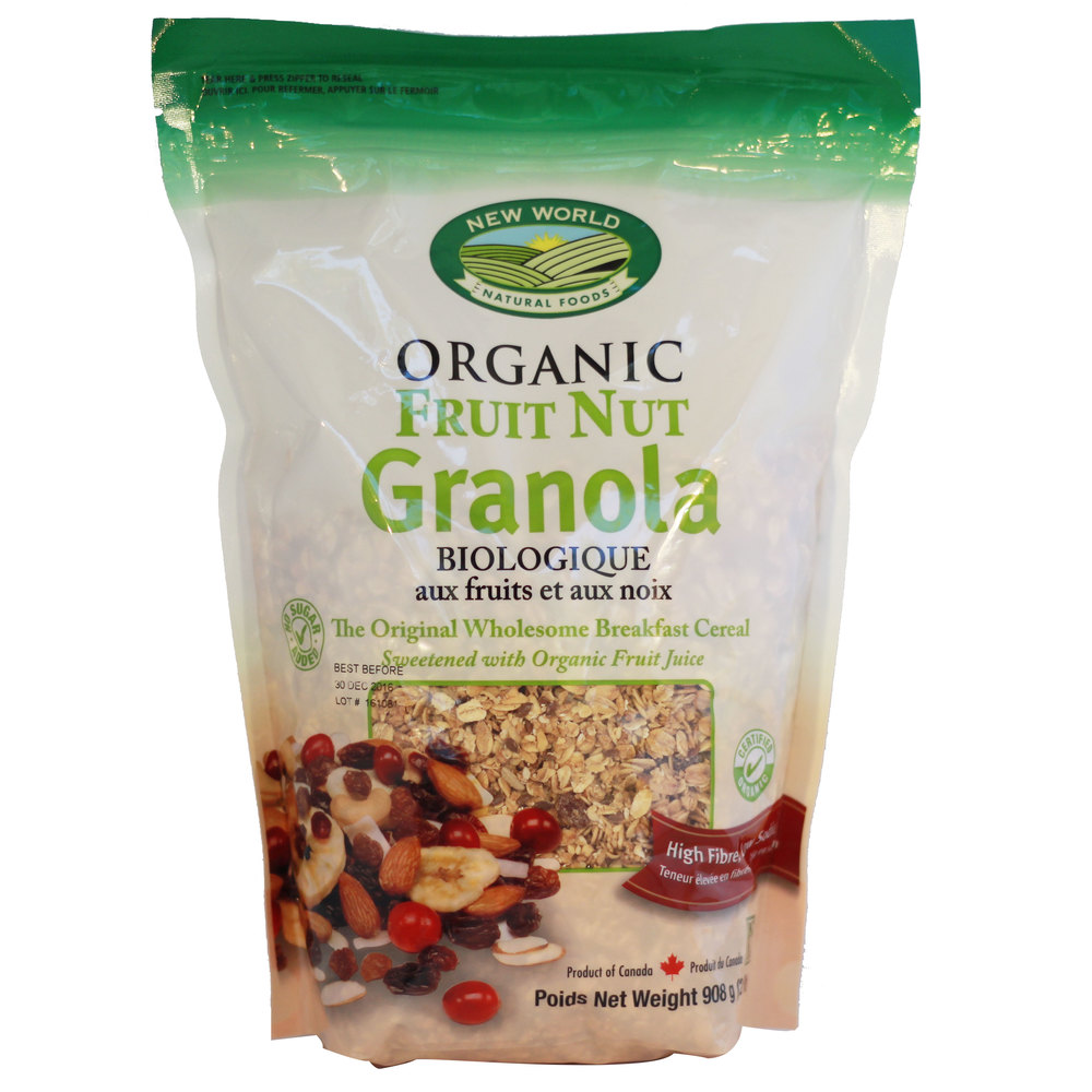 Fruit Nut Granola