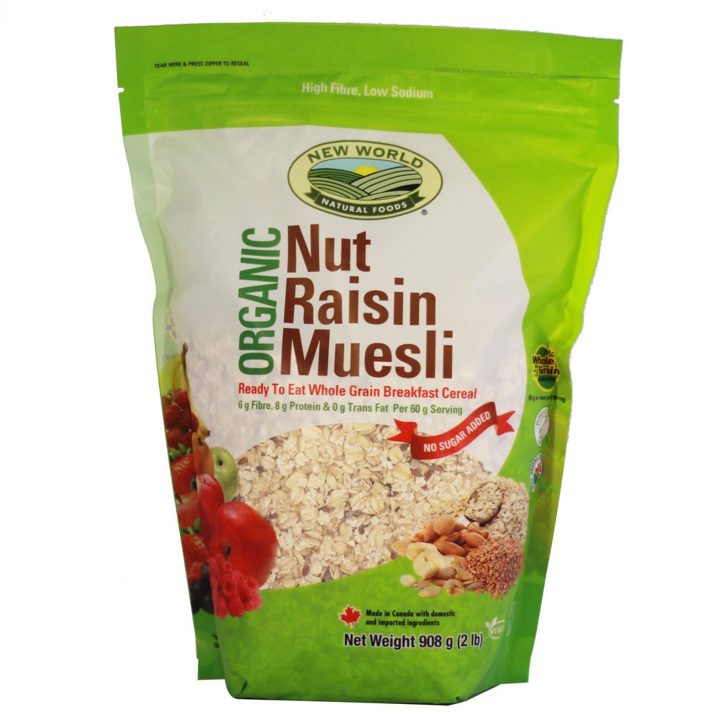 Nut Raisin Muesli