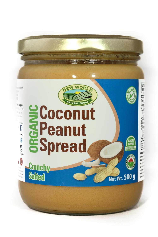 Crunchy coconut Peanut Spread