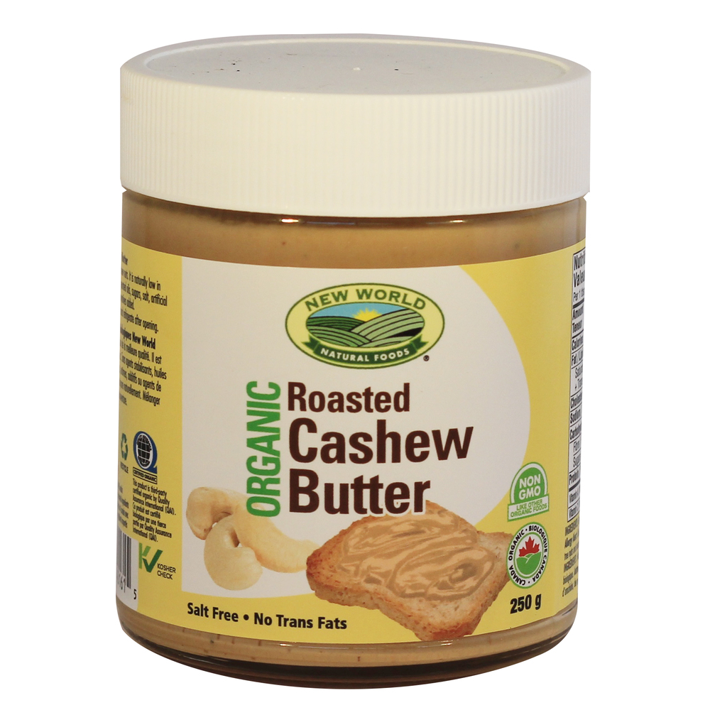 100% Natural Roasted Cashew Butter