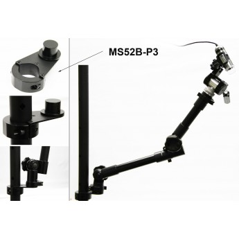 Industrial pole adapter for the MS52B