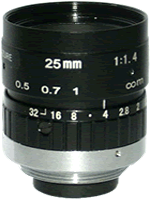 MLGLM3 lens shown at profile