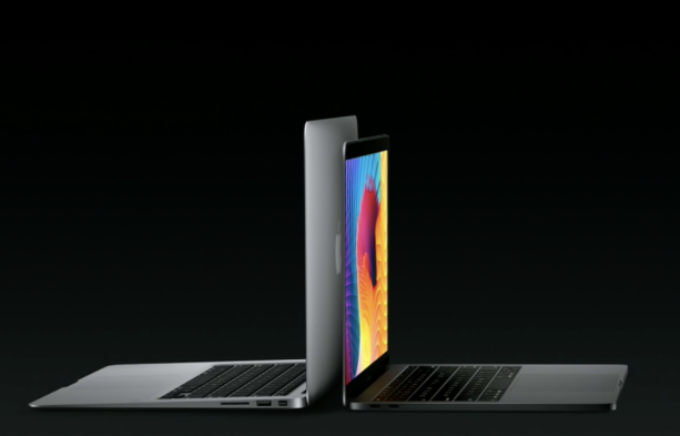 Source: The Verge, The Macbook Pro compared to the Macbook Air