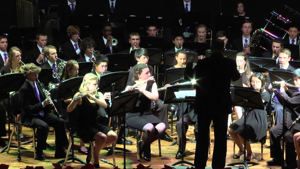 The Cab Calloway Wind Ensemble performs during their annual Winter Concert. Photo courtesy of wstidman via Youtube