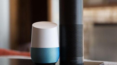 Source: The Verge, The Google Home and Amazon Echo, side by side comparison.