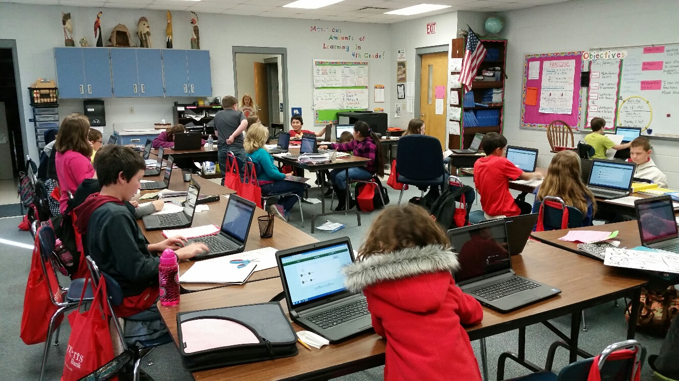 Elementary Classrooms Of The Future : Bloomfield hills schools lone pine elementary school