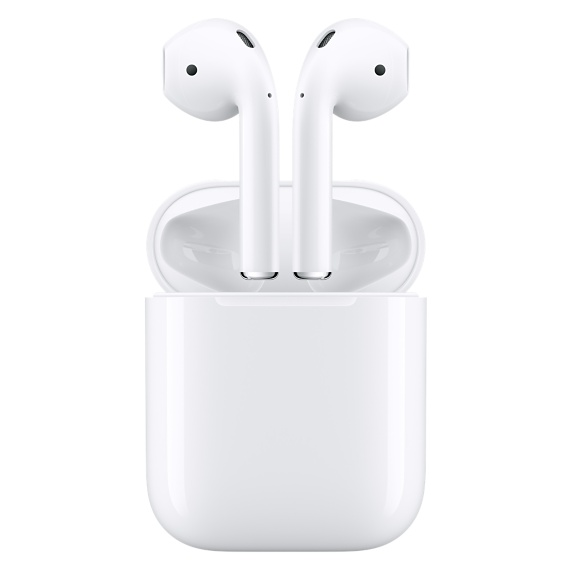 Source: The Apple website displaying the AirPods and their case