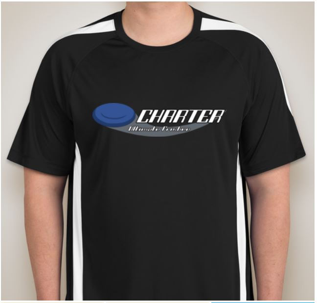 The shirt that will be worn by the Charter team at practices and tournaments. Picture by Wade Poon.