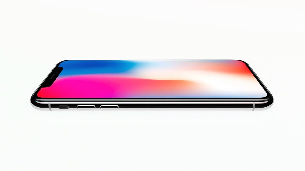 The Apple website homepage that introduces the iPhone X. Image from Apple Website.