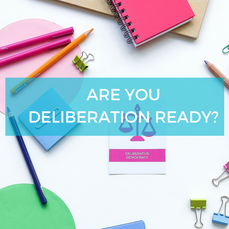 Are you deliberation ready?  Free download.