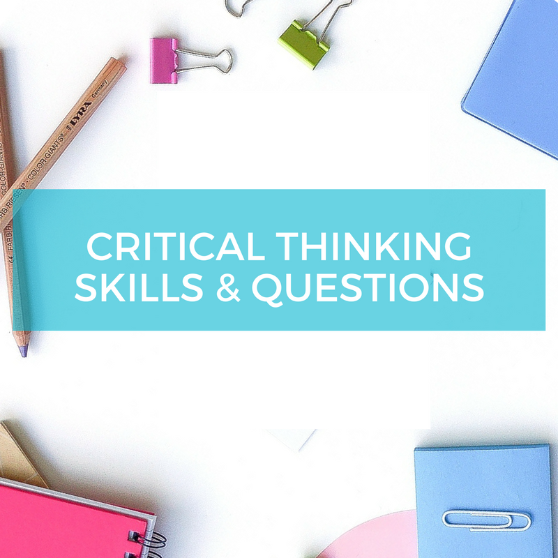 Free resource critical thinking modes and questions