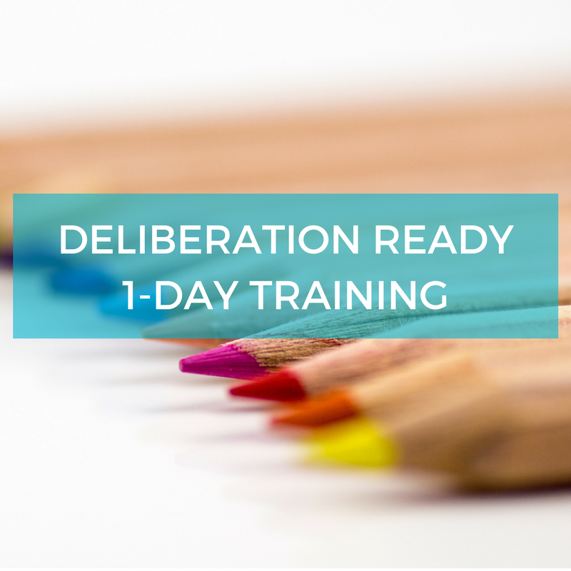 Deliberation Ready Training - Deliberative Engagement Training Melbourne