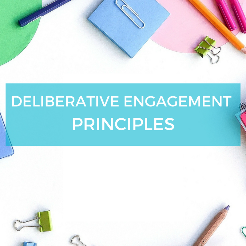 Free resource download - deliberation deliberative engagement principles