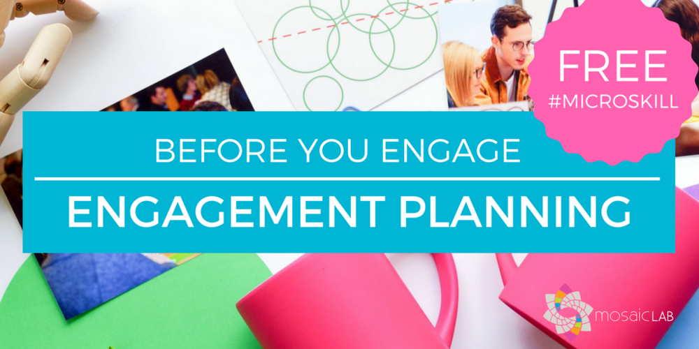 Free tips - engagement planning and engagement strategy