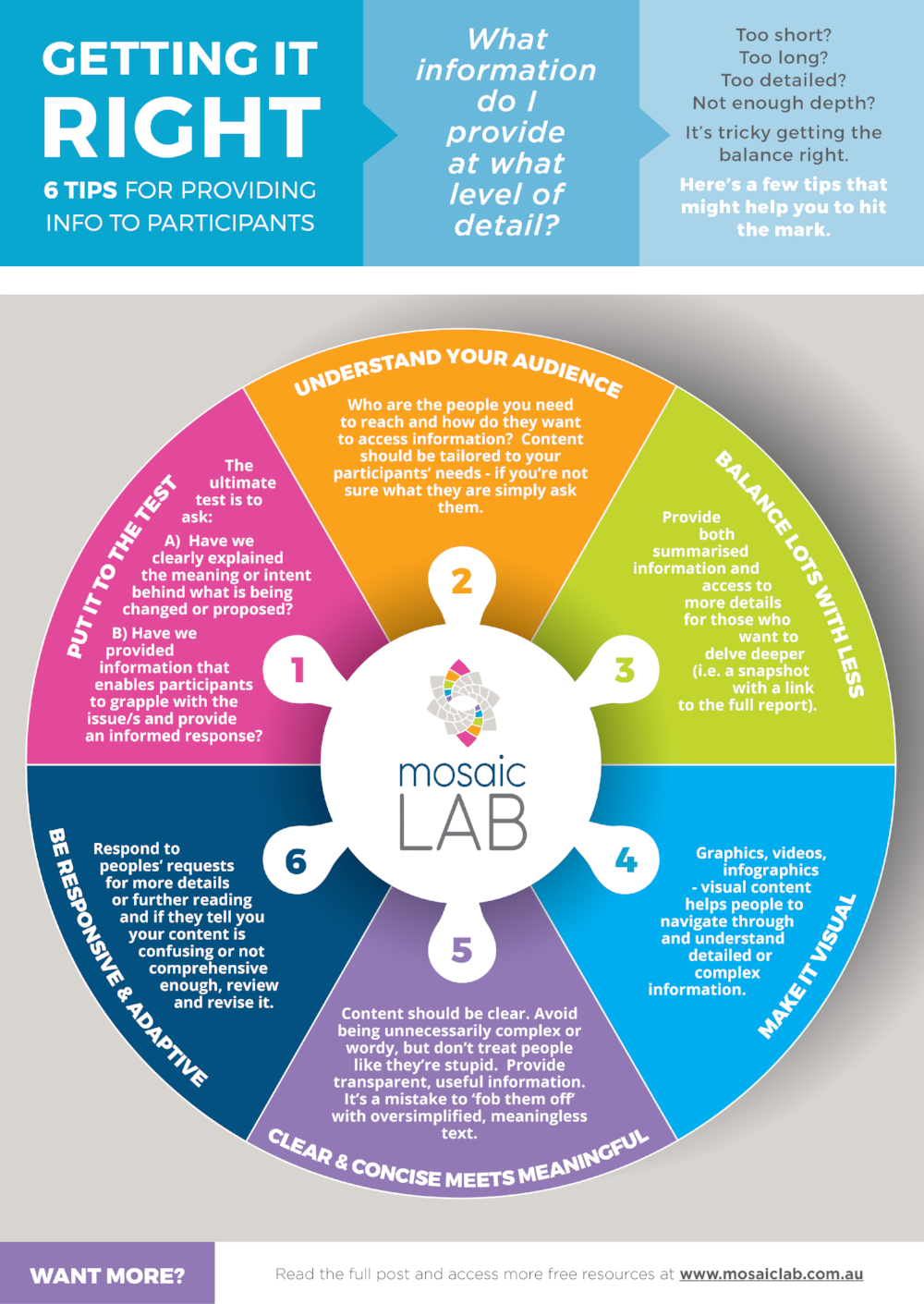 6 tips for hitting the information mark - community engagement inputs infographic.png