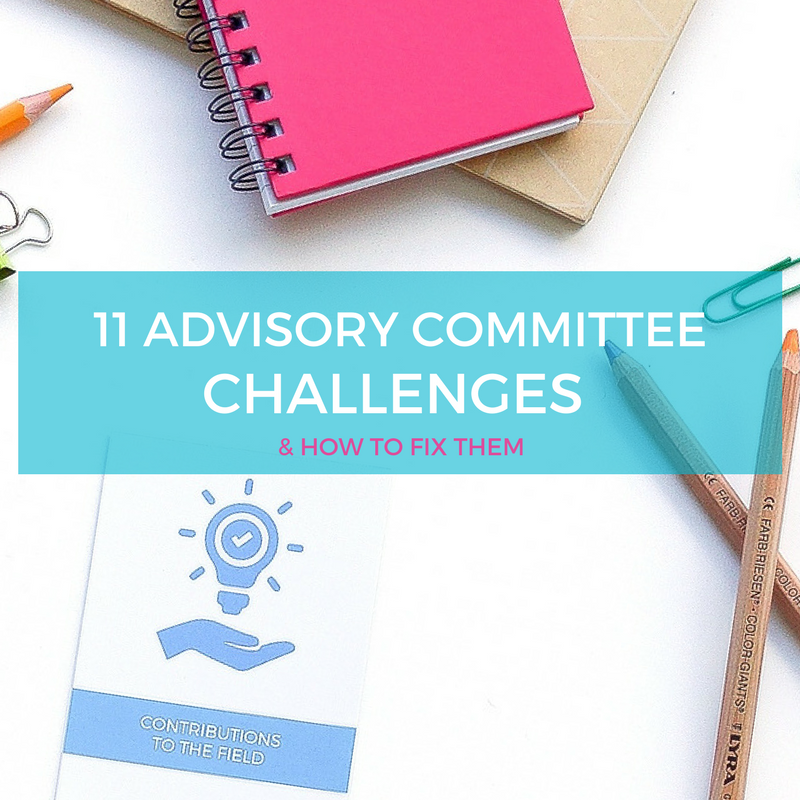 Free tips - advisory committees stakeholder groups - how to manage - free guide