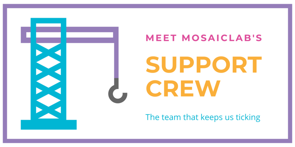 MosaicLab - Behind the Team - Our Engagement Support Crew