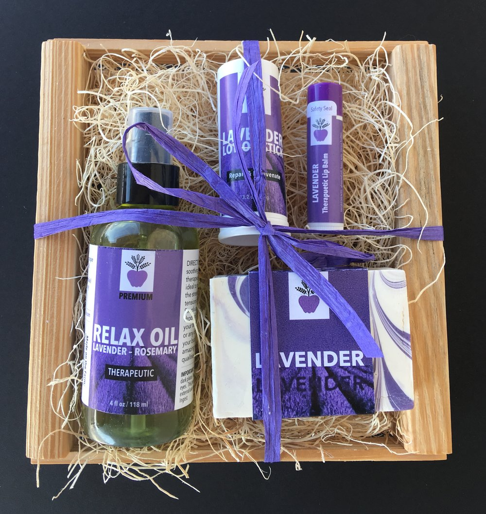 Gift Baskets and Crates - Great gifts for everyone.