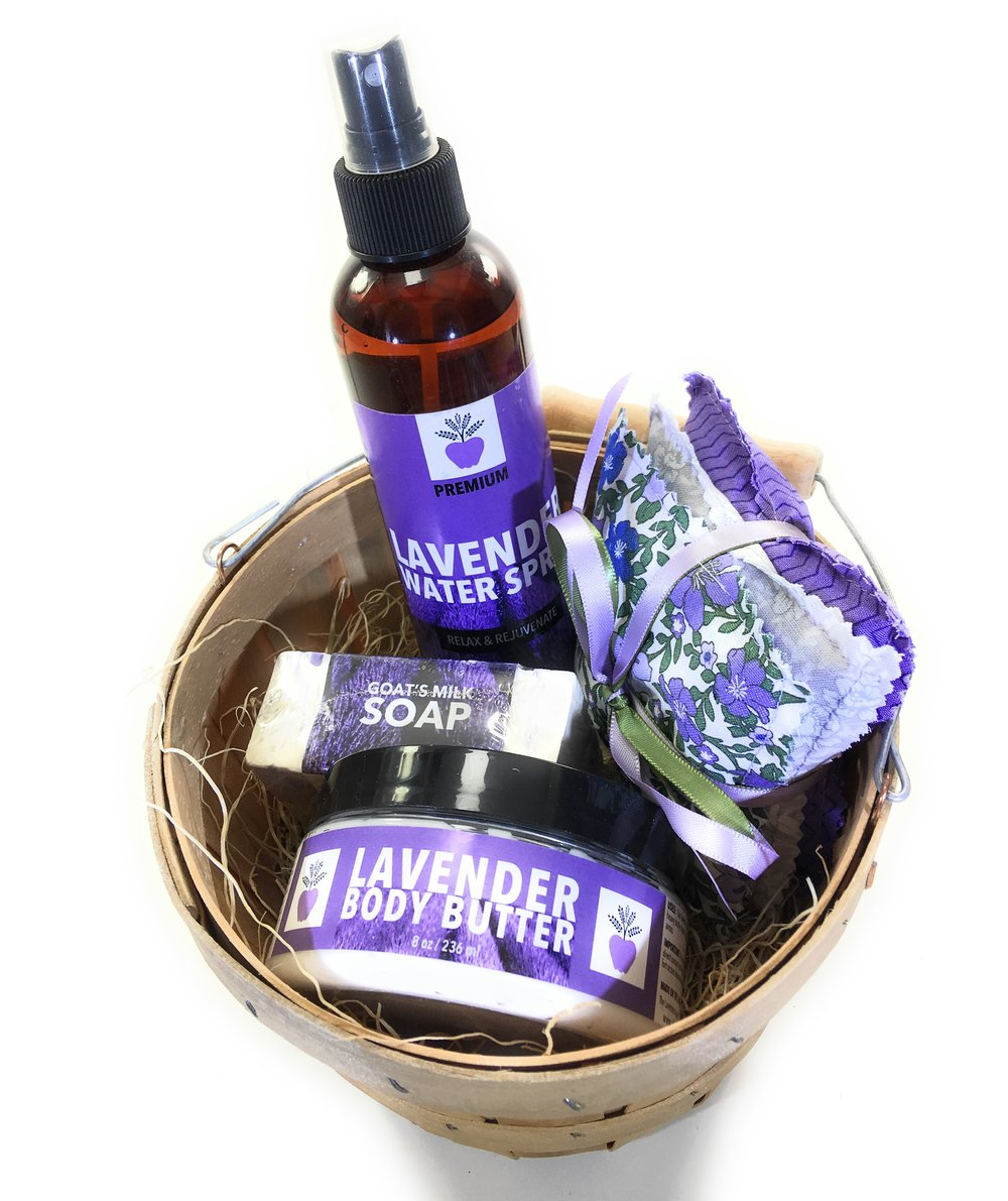 Spend $35 or more and… - Get a free 8 oz Lavender Water Spray a $12 value(Spend over $50 and get free shipping too!)