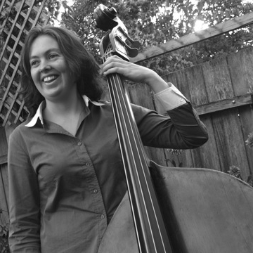Michelle Scully on bass
