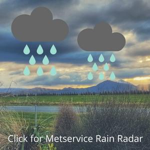 Metservice Rain Radar button