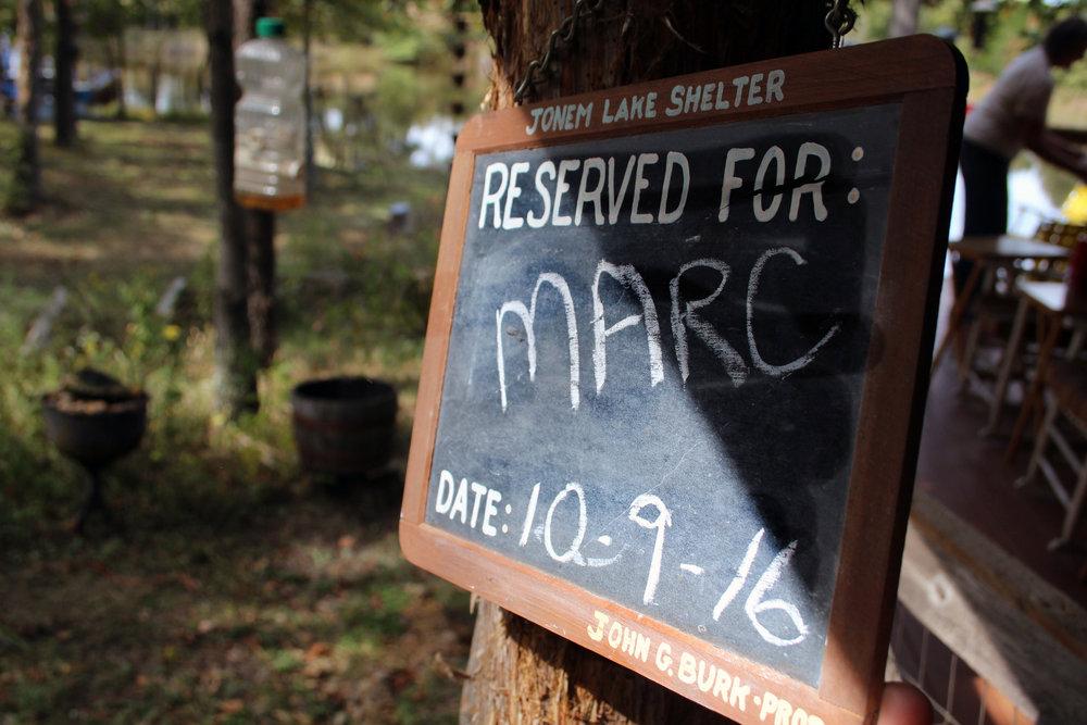 Welcome MARC to Jokem lake
