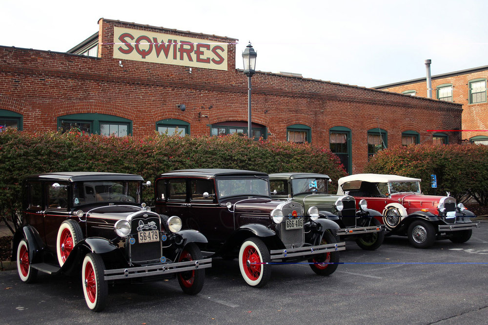Four more of the Model A's