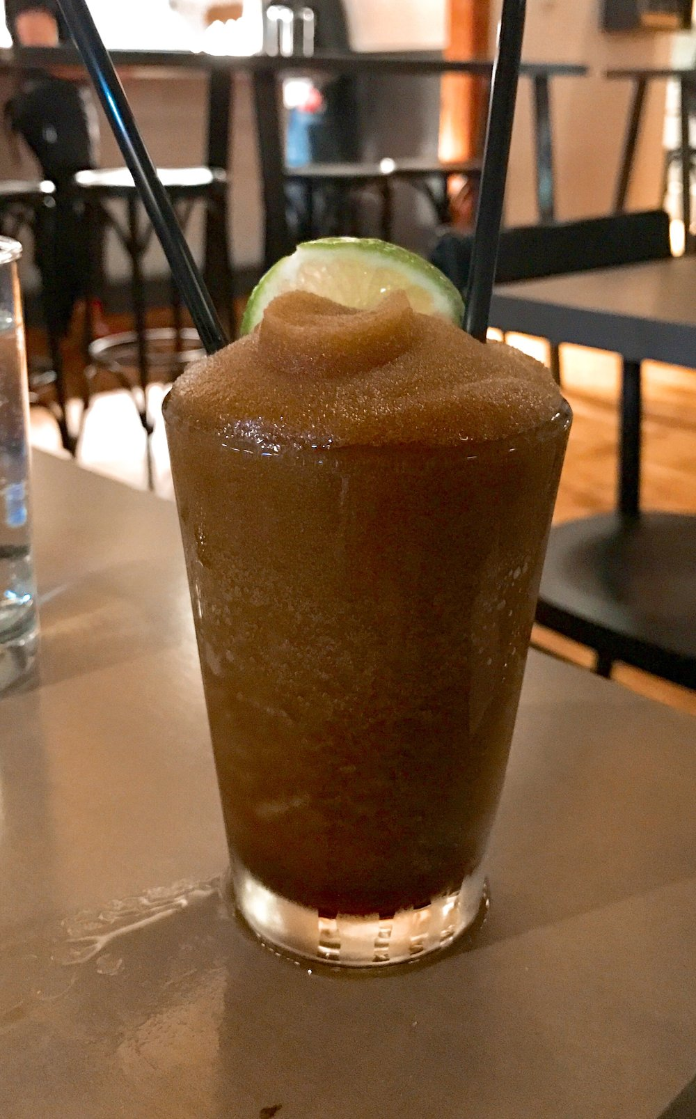 Adult Slushy: Fernet and Frozen Coke