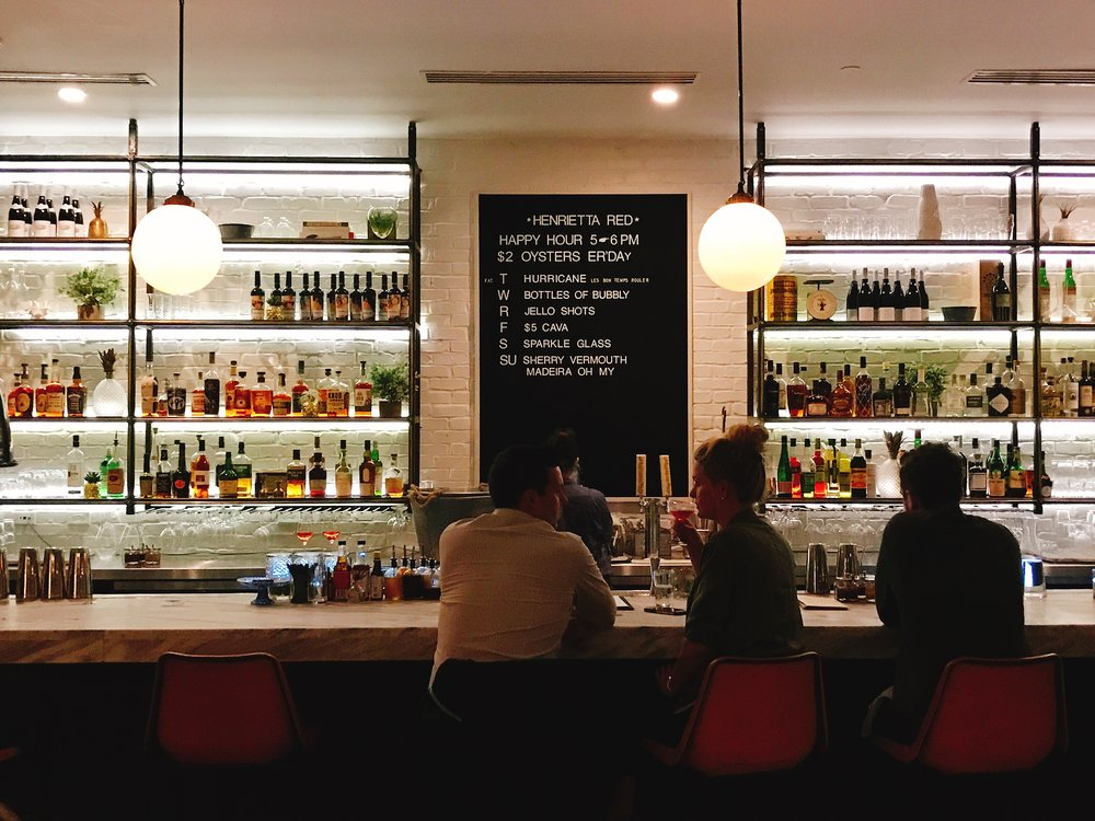 One of Two Bars at Henrietta Red