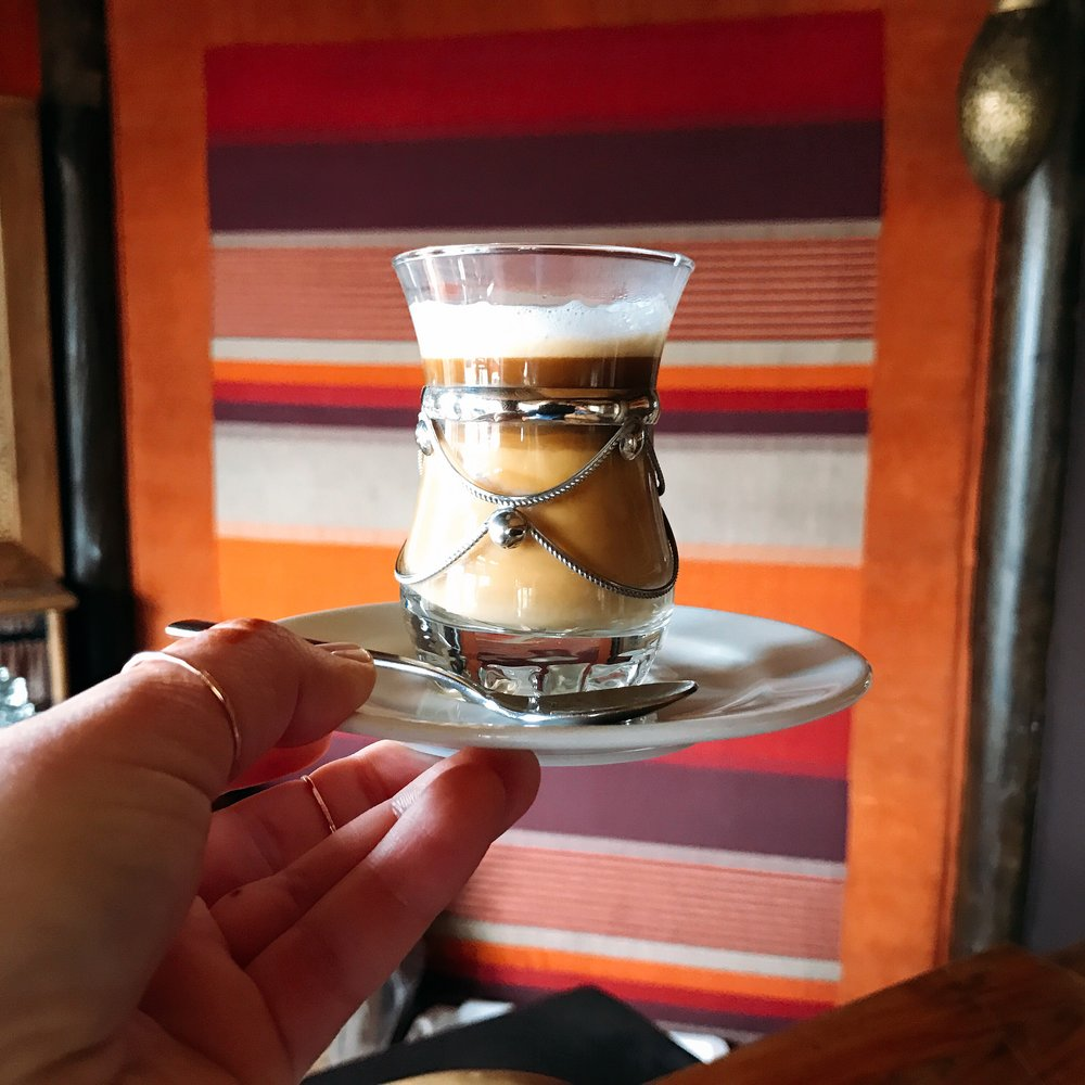 Nos Nos: If I only served my coffee drinks in glassware like this maybe it would taste better :)
