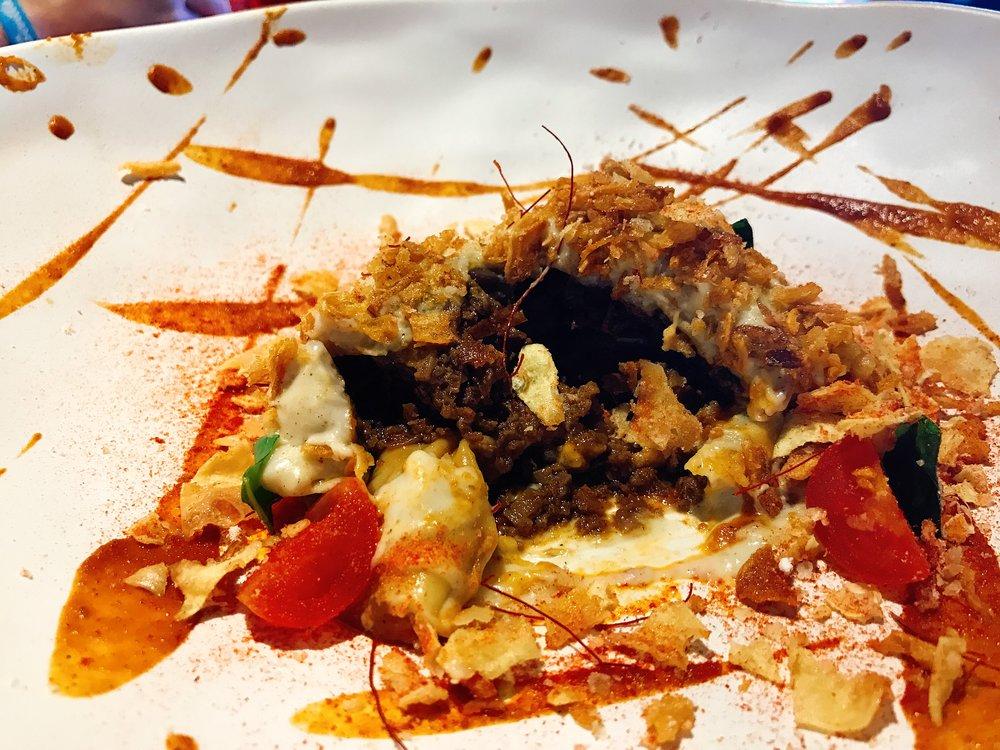 A Peek Inside the Korean Lasagna