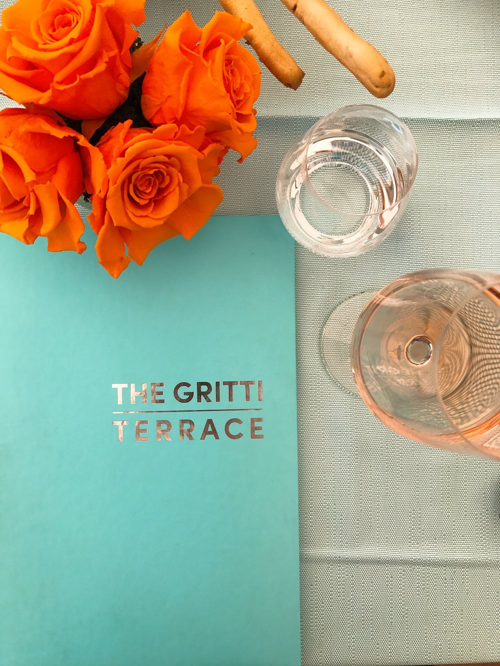 The Gritti Terrace: In love with the vibrant colors used at this restaurant