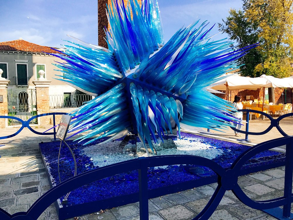 Murano: Comet Glass Star created by Simone Cenedese in 2007