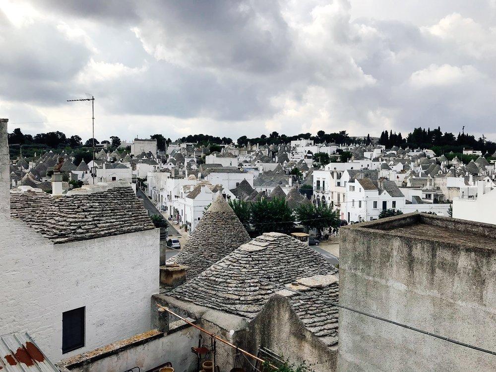 Alberobello- Trulli as far as the eye can see
