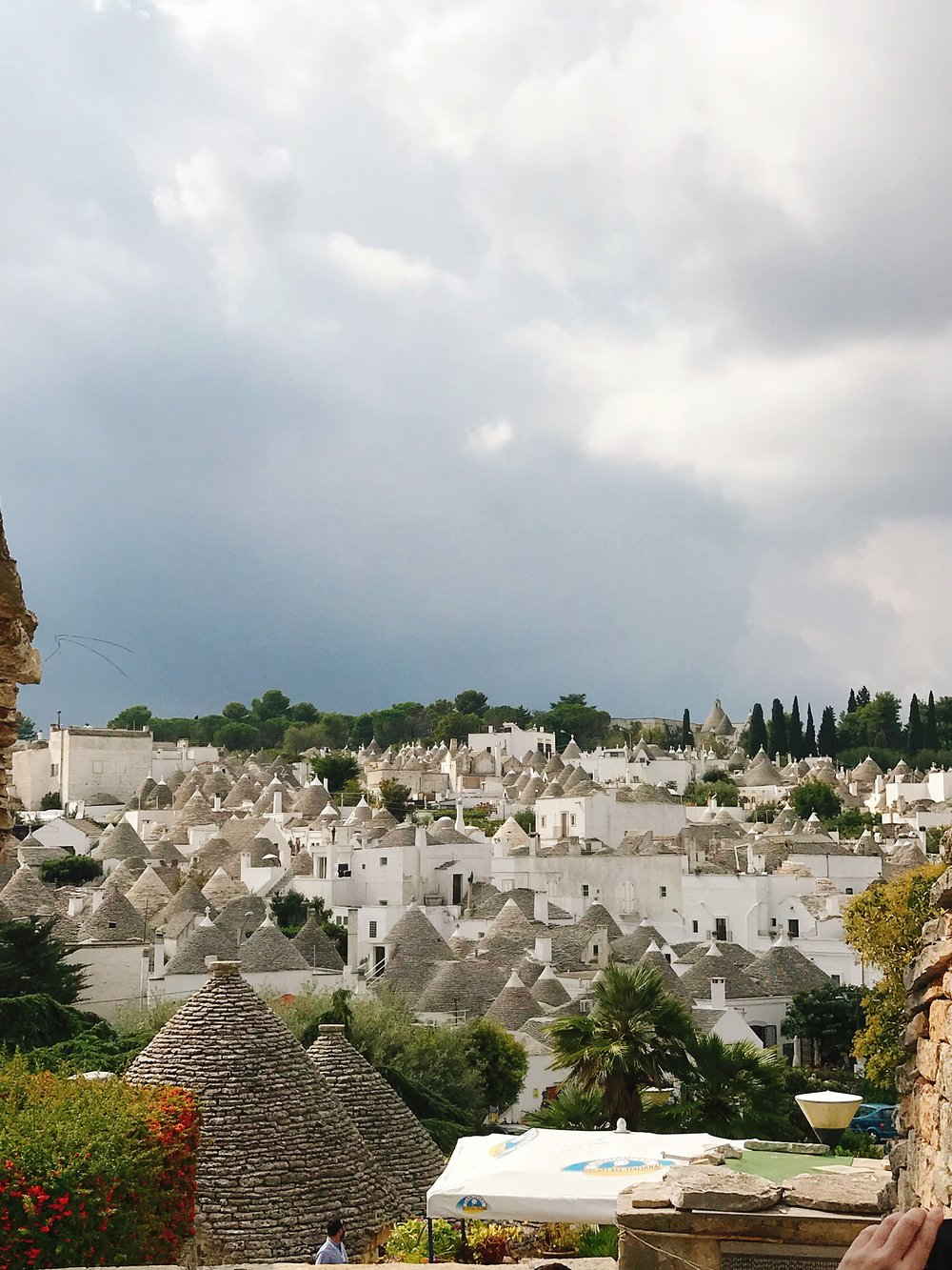 Alberobello- The sun may not have been shining, but that didn't hinder me!