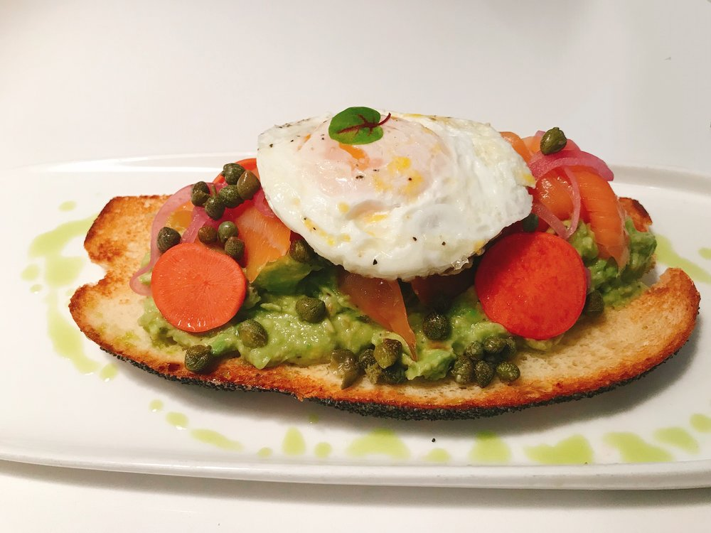Smoked Salmon Toast with Capers