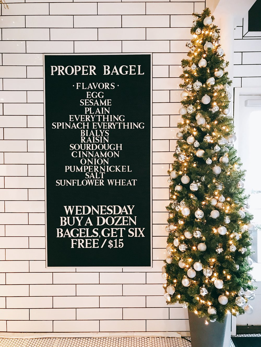 Proper Bagel Menu: Quite The Assortment of Flavors