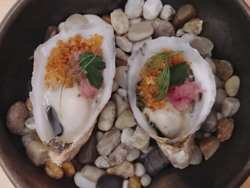 Oyster + Bacon