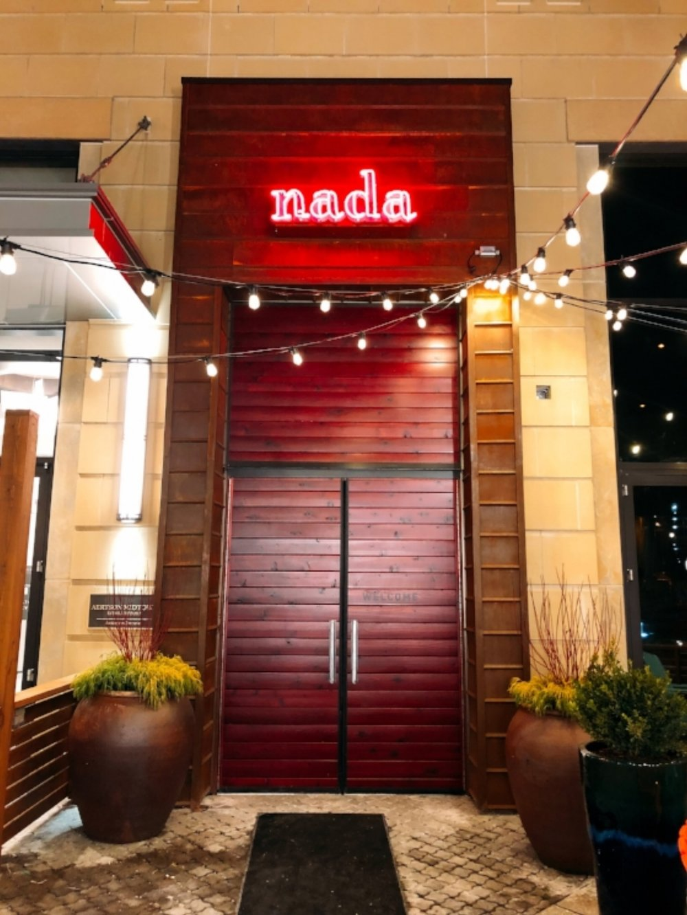Nada: These Doors Opened For Business On January 15th