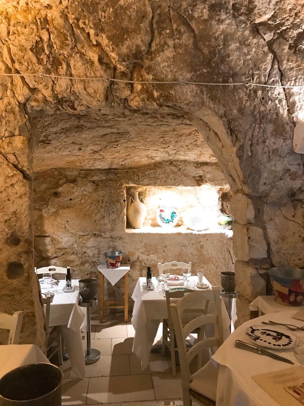 Inside Osteria Del Tempo Perso
