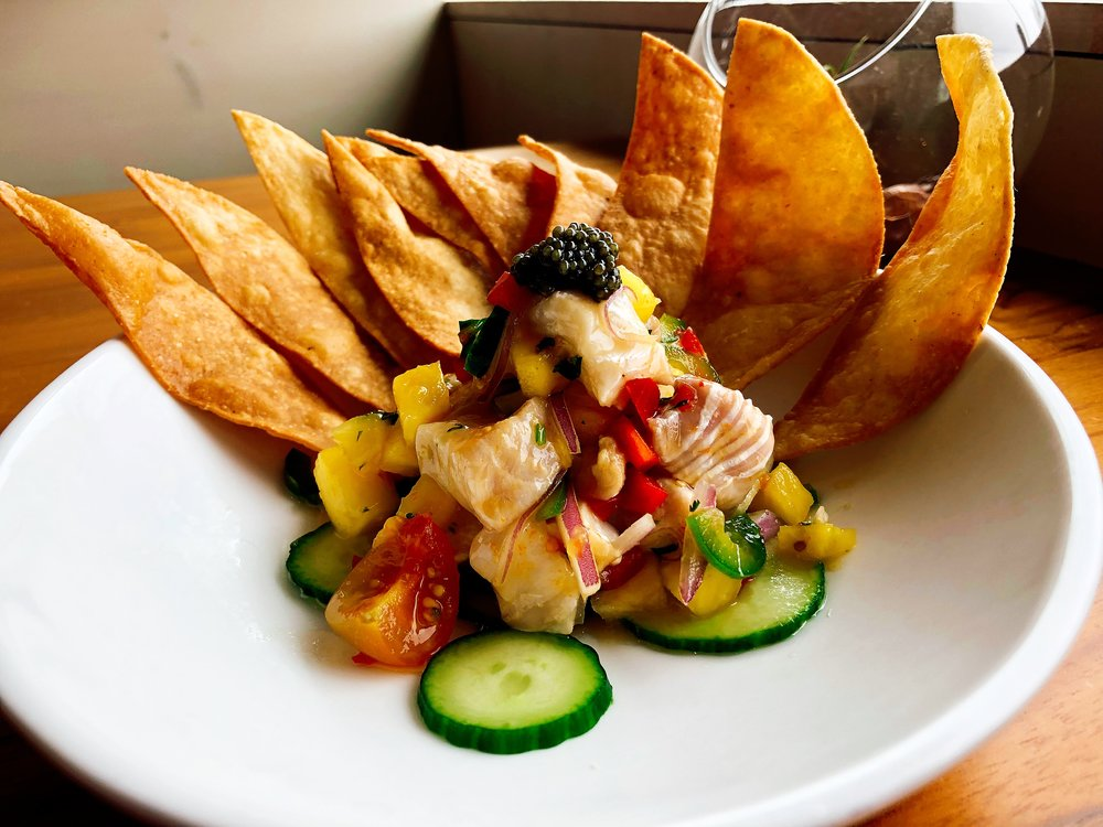 Daily Ceviche With Grouper And Mahi Mahi