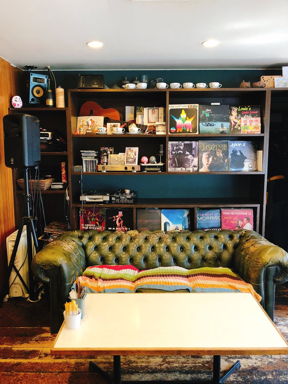 Confession: I Fell In Love With This Couch and They Vinyl Selection