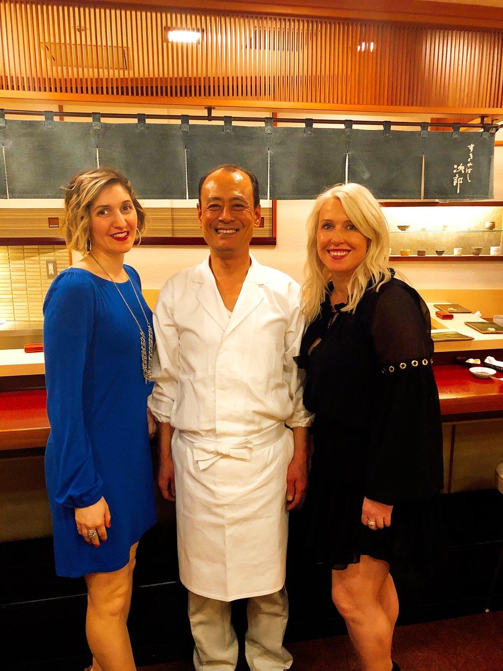 Chef Takashi Ono, A Sushi Master