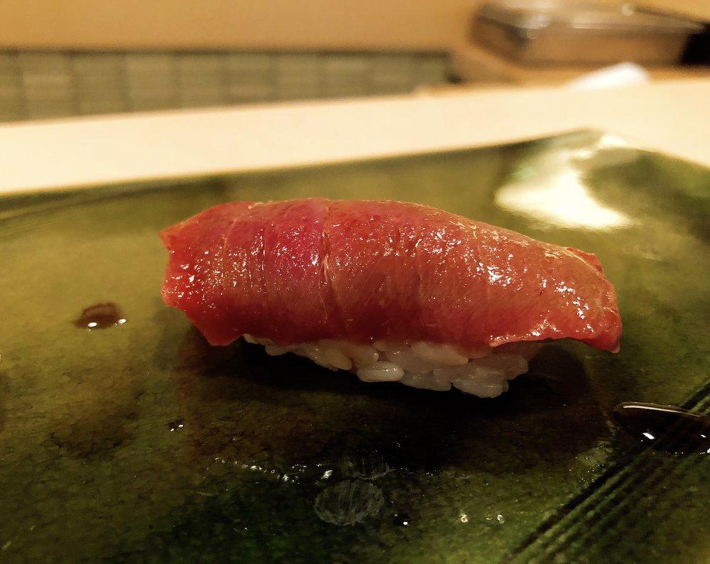 Chūtoro (Medium Fatty Tuna)