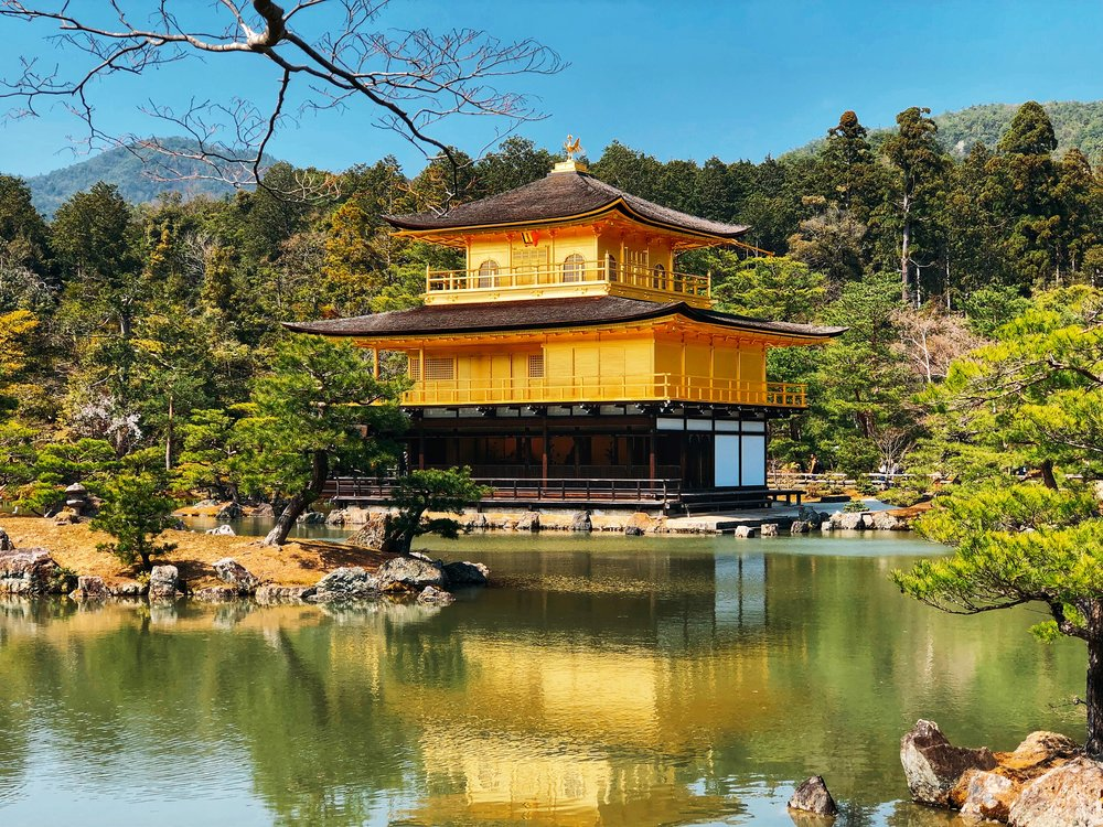 Admiring The Brilliance Of Kinkaku-ji