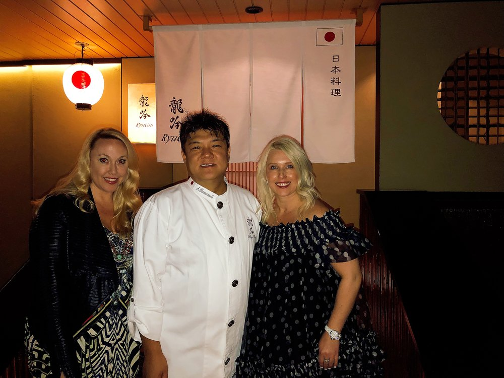 Many Thanks To Chef Seiji Yamamoto For Such A Wonderful Experience